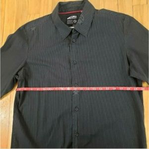 Vans Shirts - Vans Off The Wall Button Down Striped